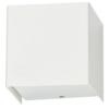 Cube-seinävalaisin-valkoinen